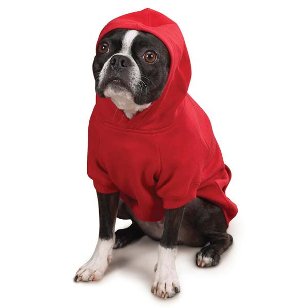 Tomato Red Puppy Dog Hoodie us2101