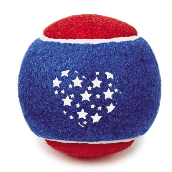 Griggles Patriotic Tennis Ball Back