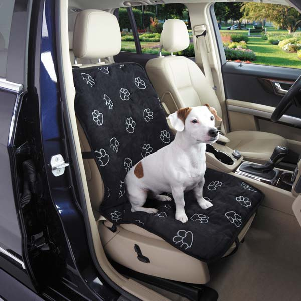 Pawprint Car Single Seat Cover For Dogs